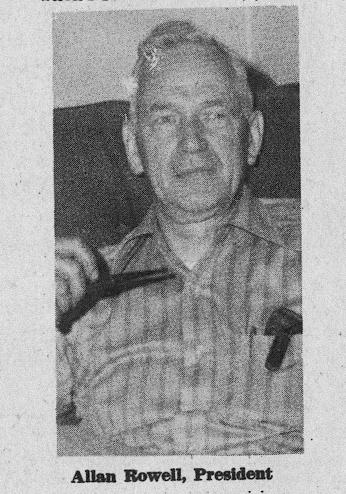 Allan Rowell, President of Rochester Association for Retarded Children