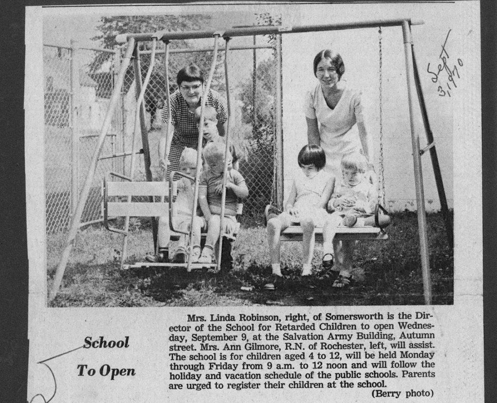 September 3, 1970 School Opening